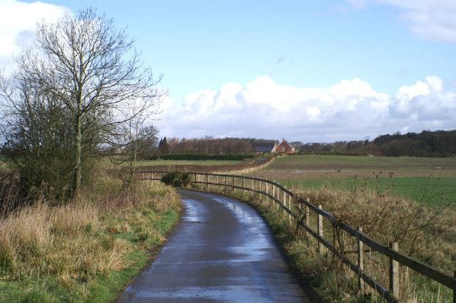 Track to Yew Tree Farm