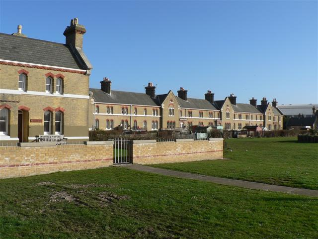 Coastguard Cottages at East Cowes