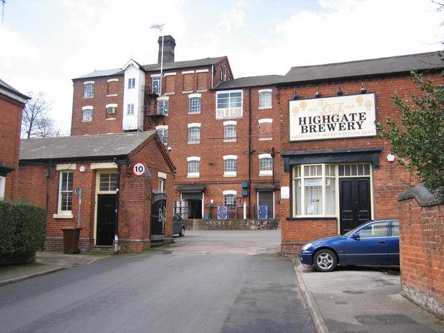 Highgate Brewery, Walsall