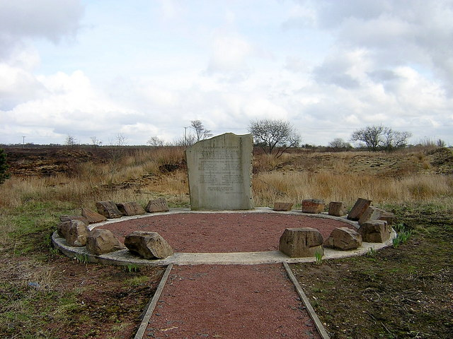 Memorial to Stanrigg Pit Disaster