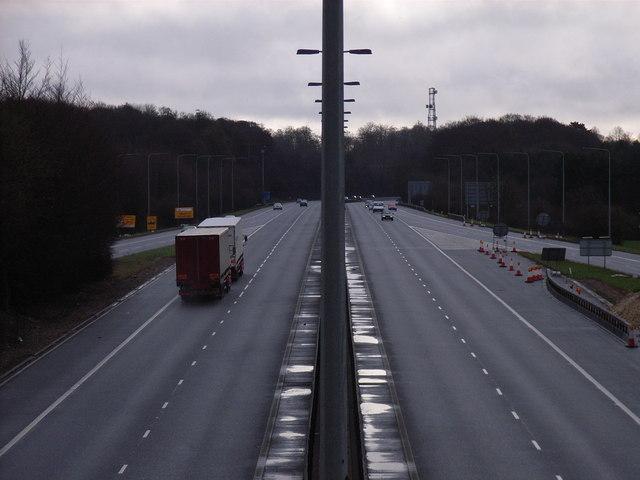 Junction 4, M40