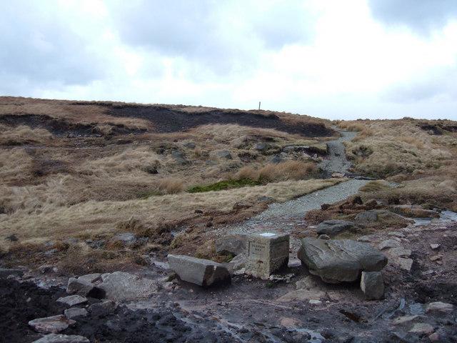 Pennine Way, Castleshaw Moor