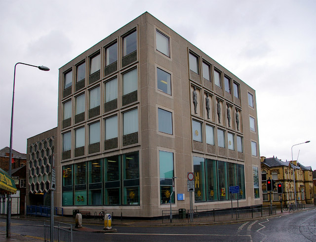 Grimsby Central Library