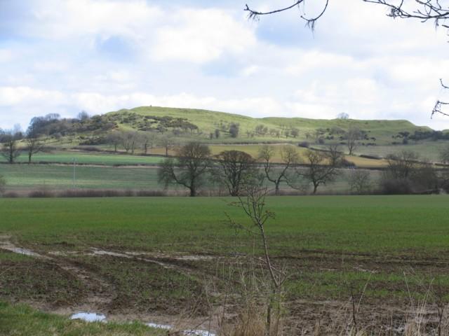 View toward Burrough Hill