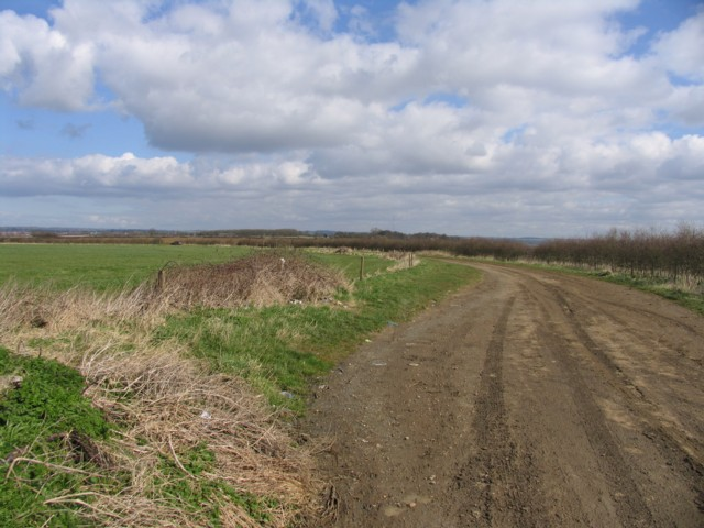 Sandy Lane towards Melton Mowbray