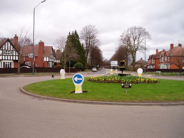 Copthorne roundabout, Shrewsbury