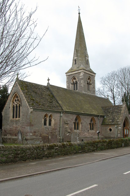 St Andrew's Church, Moreton on Lugg