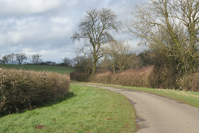 Ashwell Road near Langham