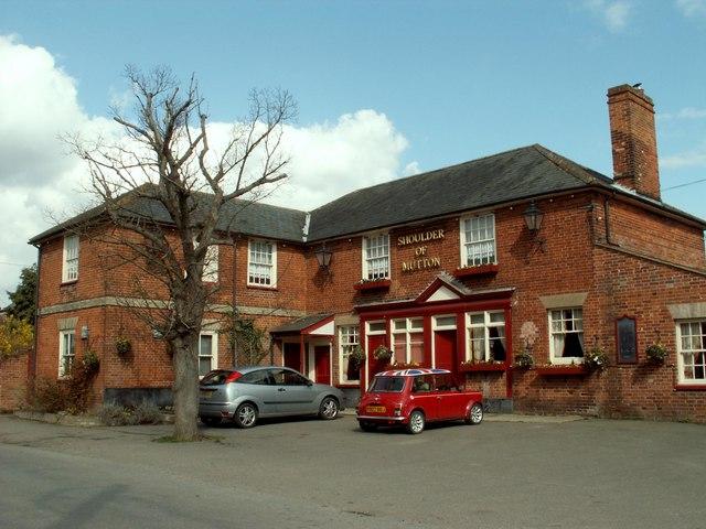 'Shoulder Of Mutton' inn at Assington, Suffolk