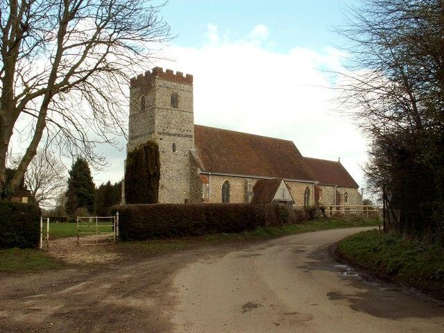 All Saints church, Newton, Suffolk