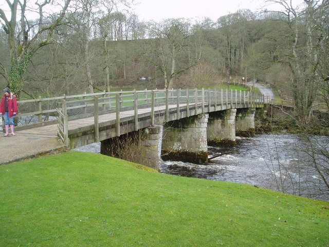 The Wooden Bridge, Bolton Abbey, Yorkshire