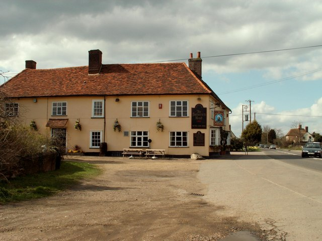 'The Saracen's Head' inn at Newton, Suffolk