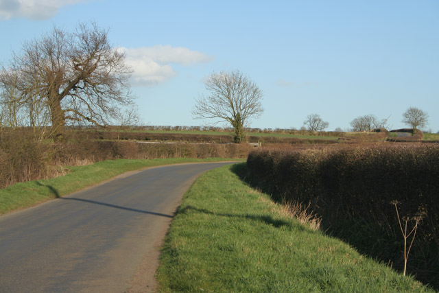 Narrow Lane near Wymeswold