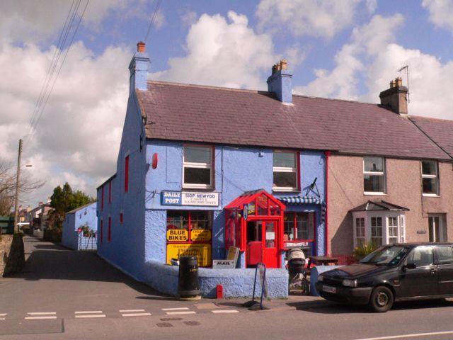 Malltraeth, Post Office.