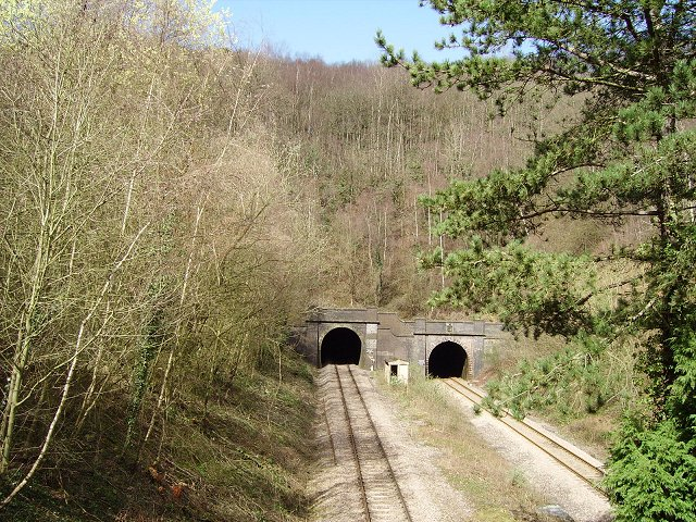 Dinmore Tunnels.