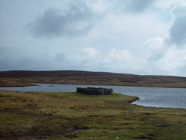 Vats-Houll Loch, Whalsay, Shetland