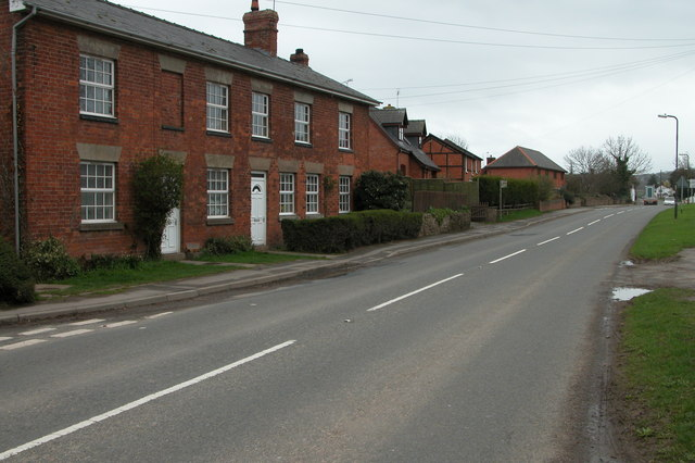 The A4110 through Canon Pyon