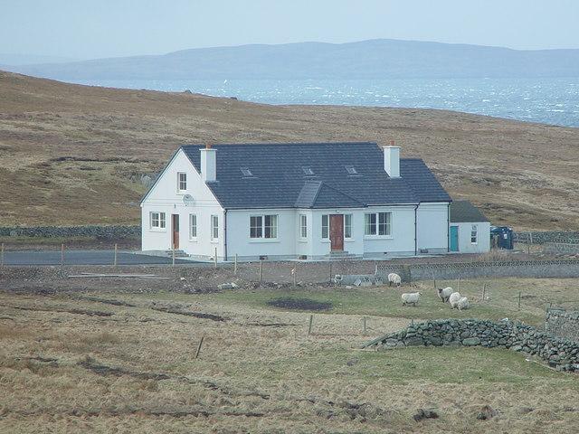New Westhoose, Skaw, Whalsay, Shetland