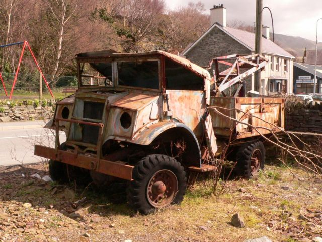 The Old Breakdown Truck