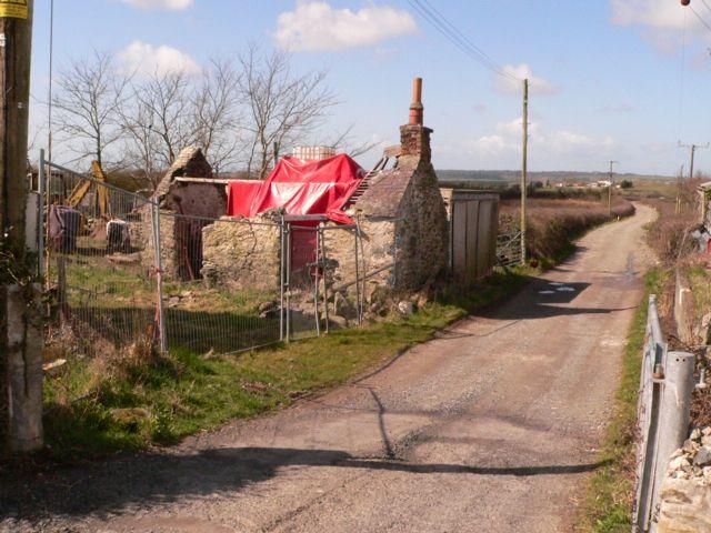 Caeau-gwynion, Newborough, Anglesey.
