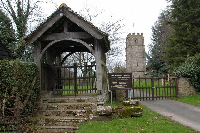 Lychgate and tower of Canon Pyon church
