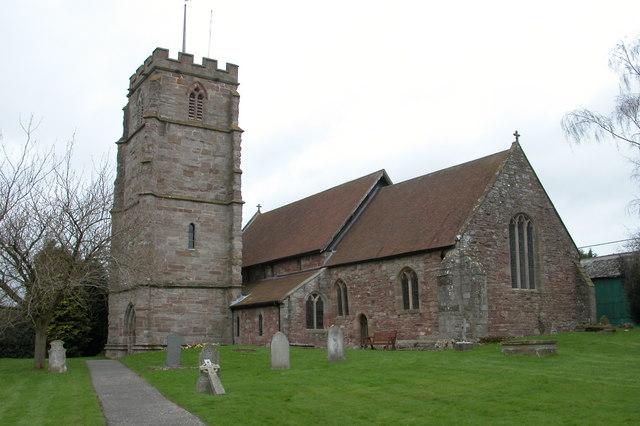 St Lawrence's church, Canon Pyon