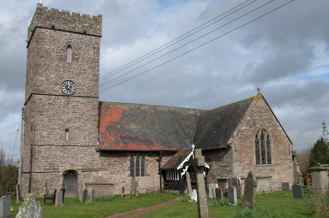 St Mary's church, King's Pyon