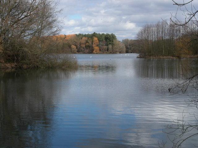 Frampton on Severn lake