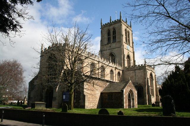 St.Lawrence's church, Hatfield