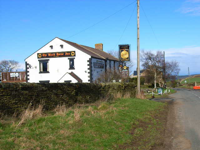 The Black Horse, Cornsay village