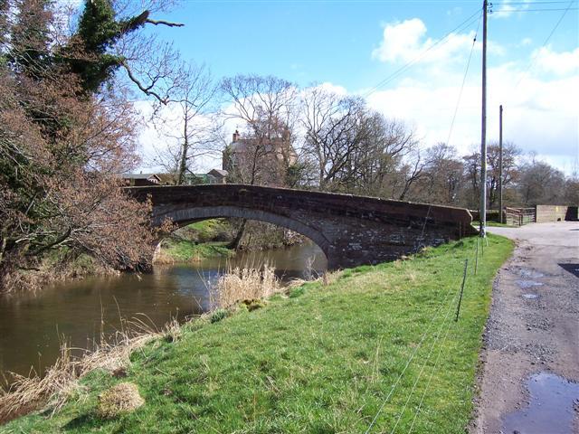 Road bridge at Plumpton Foot.