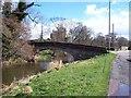 NY4839 : Road bridge at Plumpton Foot. by John Holmes