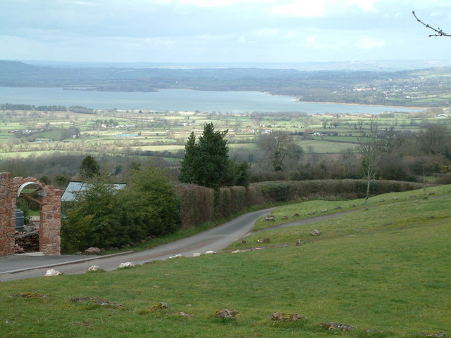 View towards Compton Martin and Chew Valley lake