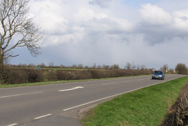 A607 near to Frisby on the Wreake