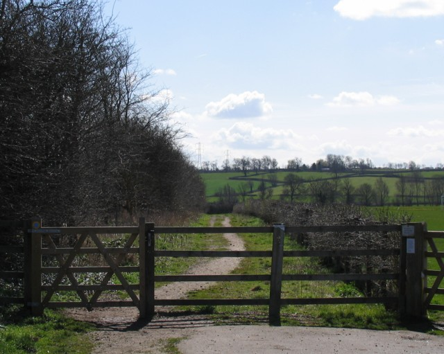 Footpath to Frisby