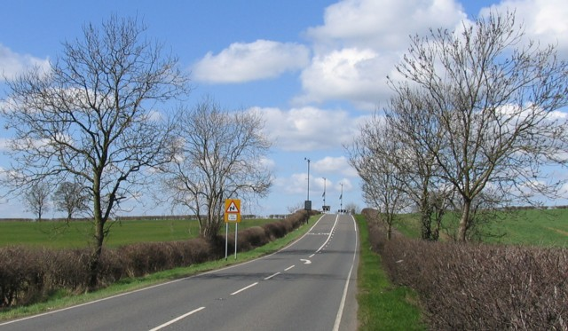 A6006 near to Asfordby