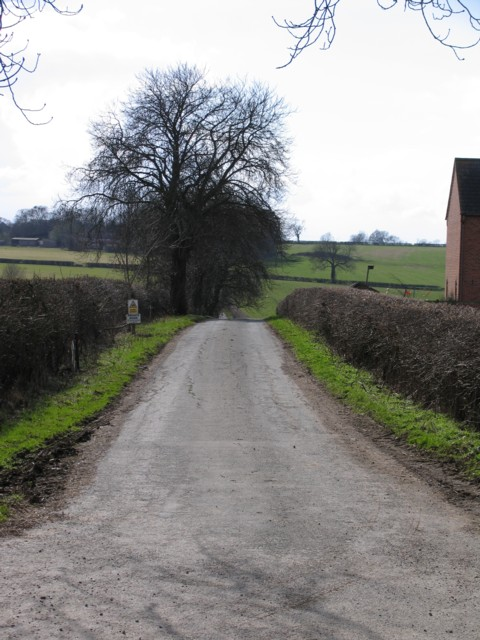 Track to Sandham Farm