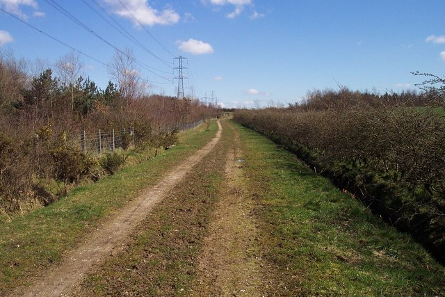 Public Footpath near Norton Lees