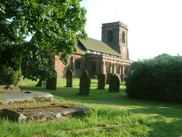 St Margarets Church - Betley