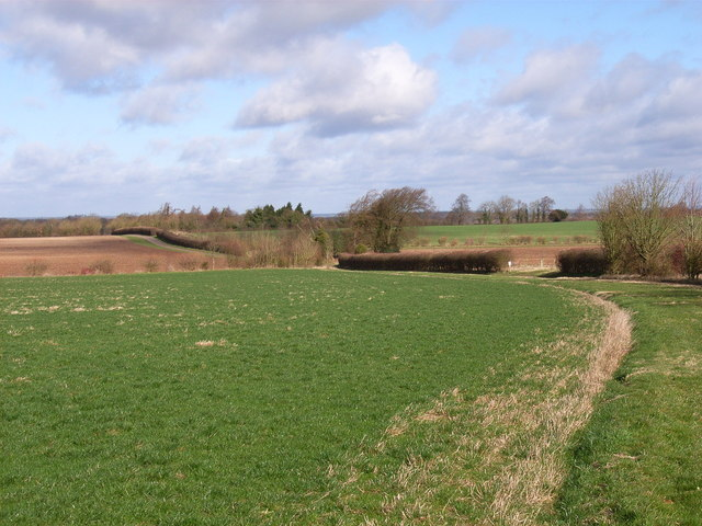 Farmland near Upton Grey