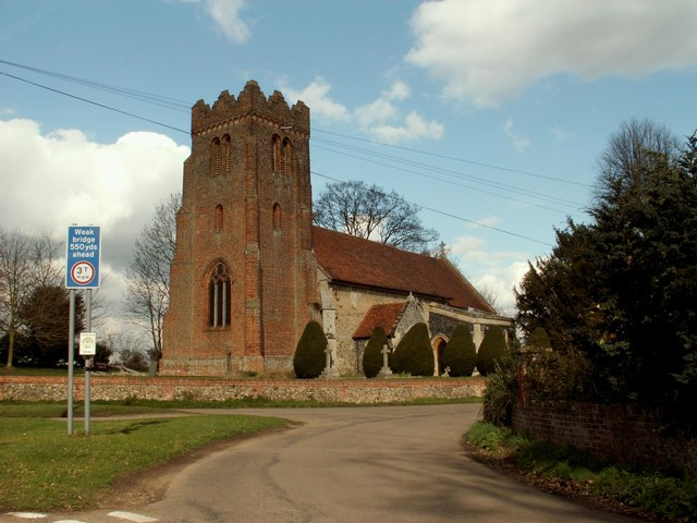 Parish church of Liston, Essex