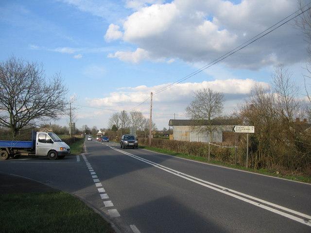 A361 at Rode