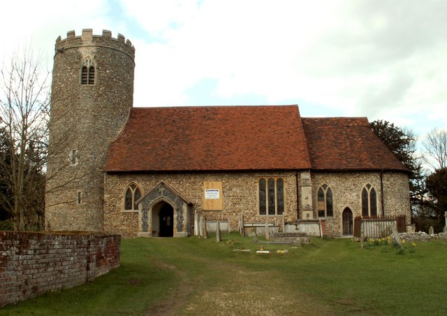 St. George's church, Pentlow, Essex