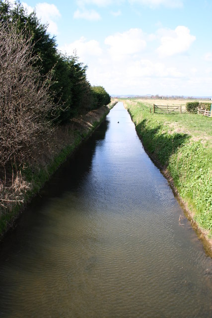 Old Fleet Drain from North Cotes