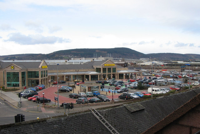 Supermarket in Inverness