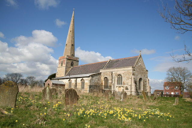 St.Peter's church, South Somercotes, Lincs.