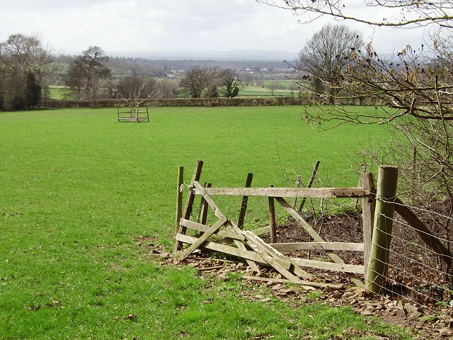 Old gate, Grantsfield