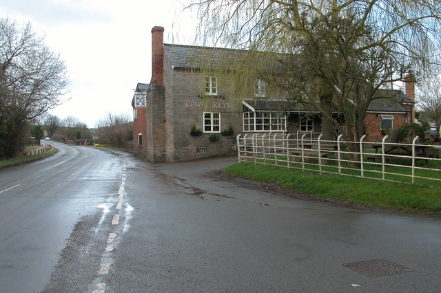 The Cross Keys Inn at Withington Marsh