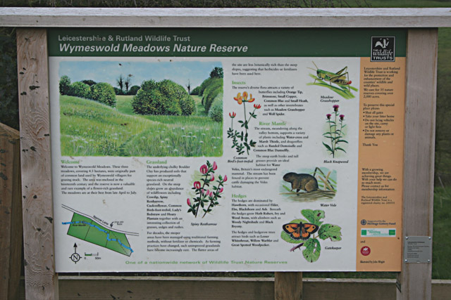Wymeswold Meadows Information Board