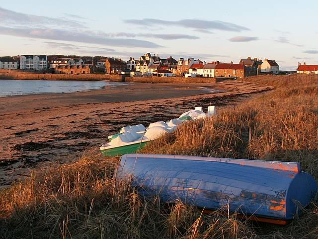 East Elie from the harbour